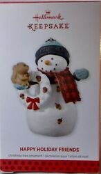 HALLMARK KEEPSAKE ORNAMENT - HAPPY HOLIDAY FRIENDS - (2013)