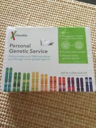 New 23andMe Personal Genetic Service Saliva Collection Kit (Service Extra)