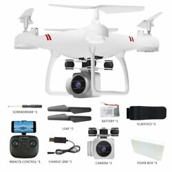 Professional Wide Angle Drone HD Camera RC Drone WiFi FPV Live Helicopter Hover $56.99