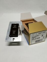 Leviton Microprocessor DIMMER 10671 000 New LED 2 Key Low Voltage.