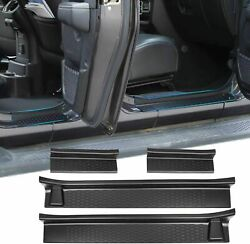 Door Sill Guard Scuff Plate Trim For Jeep Wrangler JL 18 20 4Dr Gladiator JT 2Dr $45.80