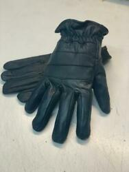 Mens Motorcycle Gloves Black Leather Touring Harley Street S M L XL 2XL 3XL 4XL $11.99