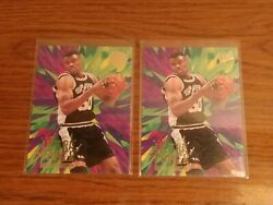 1995 96 Fleer Ultra David Robinson Ultra Power Gold Medallion SP With Common $5.00
