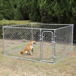 7.5ft Outdoor Large Dog Kennel Cage Heavy Duty Dog Fences Pet Pen Run House $190.99