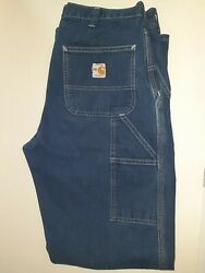 Carhartt FR FLAME RESISTANT Carpenter Jeans 290-83 DUNGAREE FIT ARC2 NFPA-2112