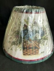 ASSORTED CLIP ON LAMP SHADES - VARIOUS SIZES COLORS THEMES ....YOU CHOOSE