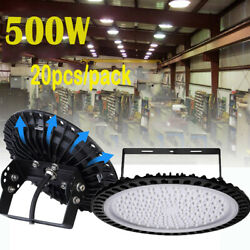 20X500W UFO LED High Bay Light Gym Factory Warehouse Industrial Commercial Light $2,023.99
