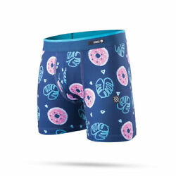 New in box Stance Boys Underwear Boxer Brief quot;Boys Palm Sprinklequot; YSmall Navy $10.99