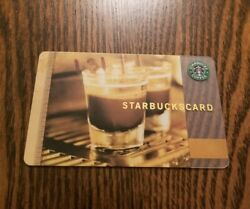 Starbucks Coffee as Art Gift Card Espresso 2006 $10.00