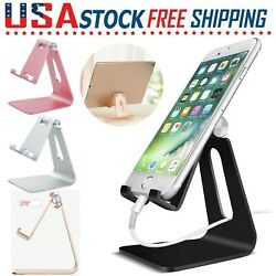 Universal For Tablet Cell Phone Aluminum Desk Table Desktop Stand Holder Cradle $7.99