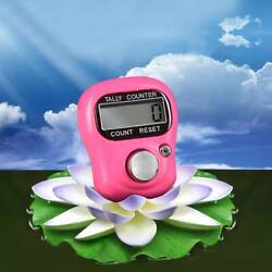 1*Digit Digital LCD Electronic Golf Finger Hand Ring Knitting Row Tally Counter $0.99