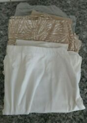 Legacy Leggings Small Capri Skirted Leggings White Tan Gray Choice A253126 ml $10.00