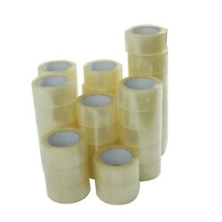 36 ROLLS 2 INCH x 110 Yards 330 ft Clear Carton Sealing Packing Package Tape $42.65