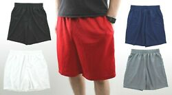 Men#x27;s Gym Basketball Shorts Athletic Workout Active Mesh Short with 2 Pockets $9.99