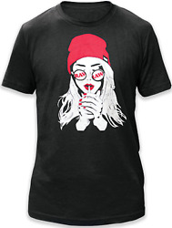 RAW Natural Rolling Papers RAW Smoker Girl T Shirt Small With Free Shipping $19.99