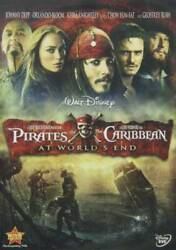 Pirates of the Caribbean: At World#x27;s End DVD VERY GOOD $3.49