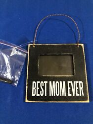 Primitives by Kathy Mini Frame Best Mom Ever New 21332 $10.99