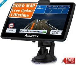 Semi Truck Gps Commercial Driver Big Rig Accessories Navigation System Trucker $68.99