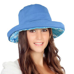 Catalonia Bucket Hat UV Protection Wide Brim Foldable Outdoor Travel Beach $11.49