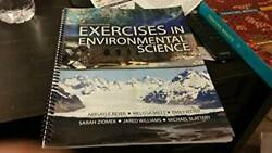 Exercises in Environmental Science - Spiral-bound - ACCEPTABLE $7.85