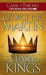 A Clash of Kings A Song of Ice and Fire Book 2 Mass Market Paperback GOOD $3.69