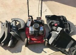 TORO Commercial Push Mower With Bagger Misc. Chutes