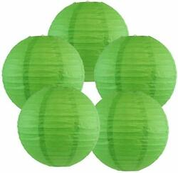 12pk GREEN St Patricks Day 12quot; Paper Lanterns Chinese Lanterns Party Decorations $9.99