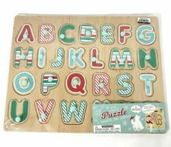 Kids Wooden Puzzle Animal ABC Train Fire Truck Donut Toddler Learn Educational $5.59