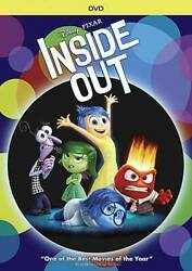 Inside Out (1-Disc DVD) - DVD By Amy Poehler - VERY GOOD $5.11