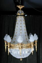 Magnificent Classical ChandelierChandelier Empire Style F-Aas-5