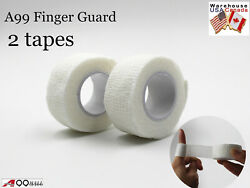 A99 Golf Finger Guard Golfer#x27;s Tape Wrap Self Adhesive Protector 2pcs $10.49