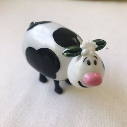 plastic novelty cow toy stocking stuffer kitsch quirky cute AU $7.00