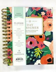 Day Designer for Bluesky 2019 20 Academic Planner Hardcover 6quot;x 8quot; Secret Garden