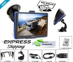 Semi Truck Gps Commercial Driver Big Accessories Navigation System Trucker $71.49