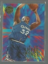 1995 96 Ultra Power Gold Medallion #9 Shaquille O#x27;Neal ref 85454 C $7.99