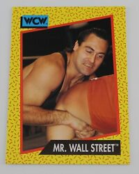 IRS Mr Wall Street WCW Wrestling Trading Card Raw Smackdown Wrestler WWE #82 $1.99