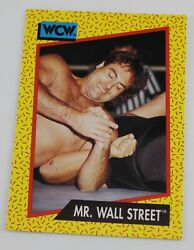 IRS Mr Wall Street WCW Wrestling Trading Card Raw Smackdown Wrestler WWE #83 $1.99