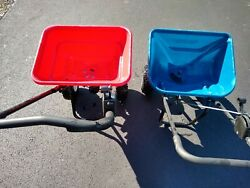 EarthWay 2050 Broadcast Commercial Push Spreader Red