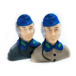 1pc 1 7 Scale RC Plane Pilots Figures RC Kits L57*W29*H57mm Brown Army Green $4.98