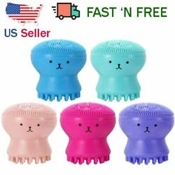 2PCS Silicone Face Cleansing Brush Facial Cleanser (FOR FACE MASSAGE)  $6.55