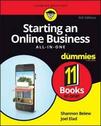 Starting an Online Business All in One For Dummies For Dummies Bus VERY GOOD $8.93