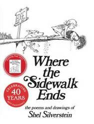 Where the Sidewalk Ends: Poems and Drawings Hardcover GOOD $5.70