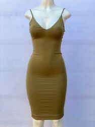 OLIVE GREEN MIDI PENCIL DRESS (SIZE SMALL  NEW WITHOUT TAGS) $15.00