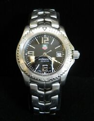 Men's TAG Heuer Stainless Steel Professional 200M LINK Wrist Watch Model WT1210
