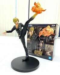 Banpresto One Piece Battle Record Collection Figure Sanji Diable Jambe BP81847 $29.99
