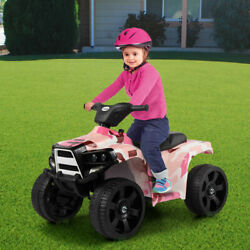 Electric Car Kids Ride On ATV Quad 6V Battery Powered 4 Wheel Toy Car w 2 Speed $65.99