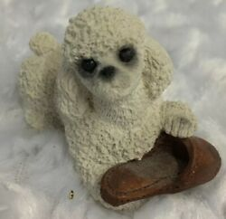 STONE CRITTERS LITTLES PLAYFUL POODLE Slipper UNITED DESIGN MADE USA SCL 104 $9.99