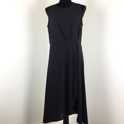 Rachel Roy Womens Little Black Cocktail Dress Shift Tunic Size Small S