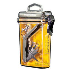 True Utility Micro Pocket Tool 6 In 1 Keychain with Waterproof Case $12.99