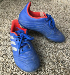 Adidas Predator Boys Soccer Cleats Size 12k Color Blue red $13.99
